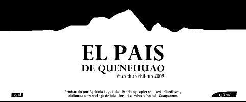 Le nom de Marcel Lapierre figure fièrement sur cette bouteille de pais issu de vignes de plus de 300 ans.
