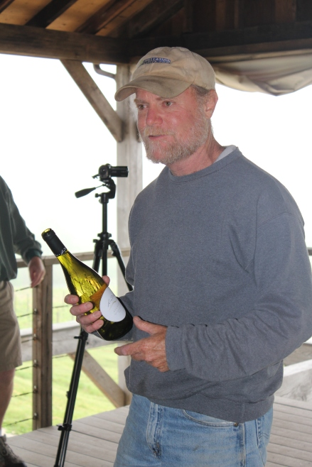 Jim Law, un des plus talentueux vignerons de Virginie.