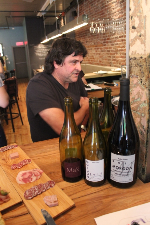 Guy Breton, alias Ptit Max, a récemment présenté ses vins à Montréal.